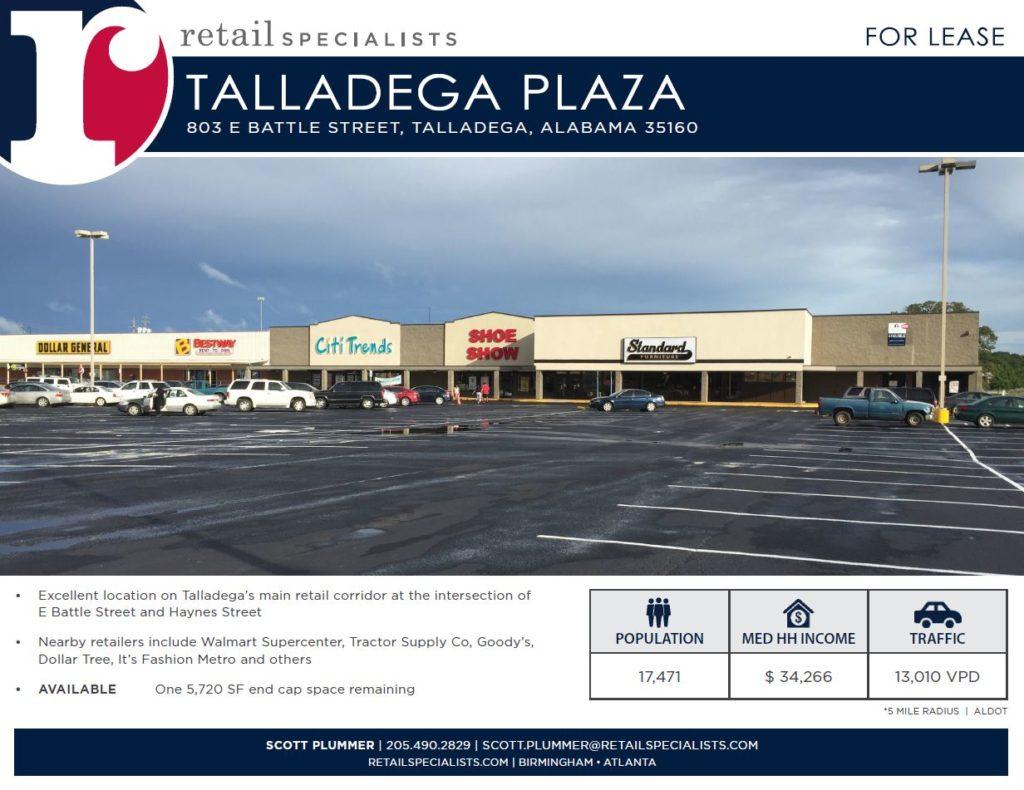 Talladega Plaza