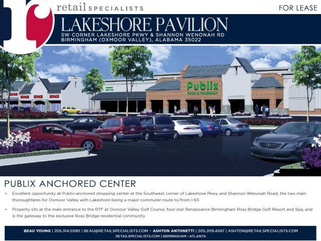 LAKESHORE PAVILION / FOR LEASE