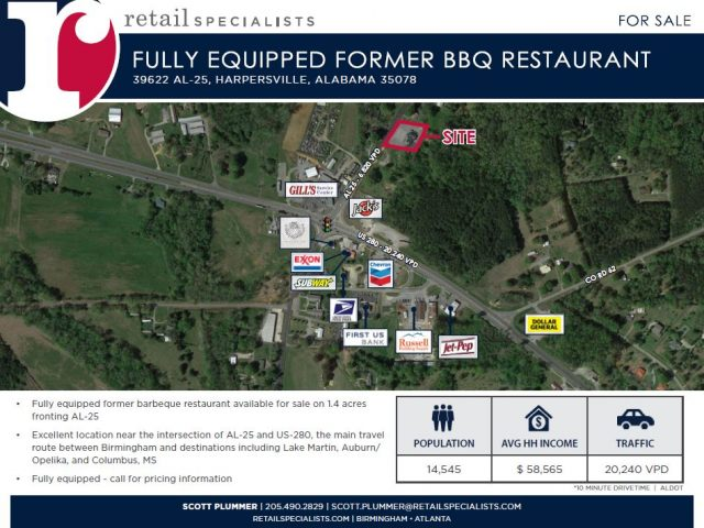 FULLY EQUIPPED FORMER BBQ RESTAURANT
