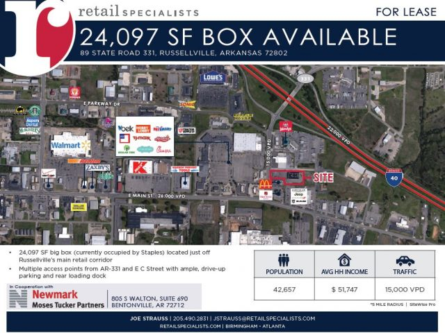 24,097 SF BOX AVAILABLE