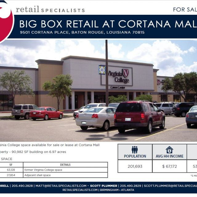 BIG BOX RETAIL AT CORTANA MALL