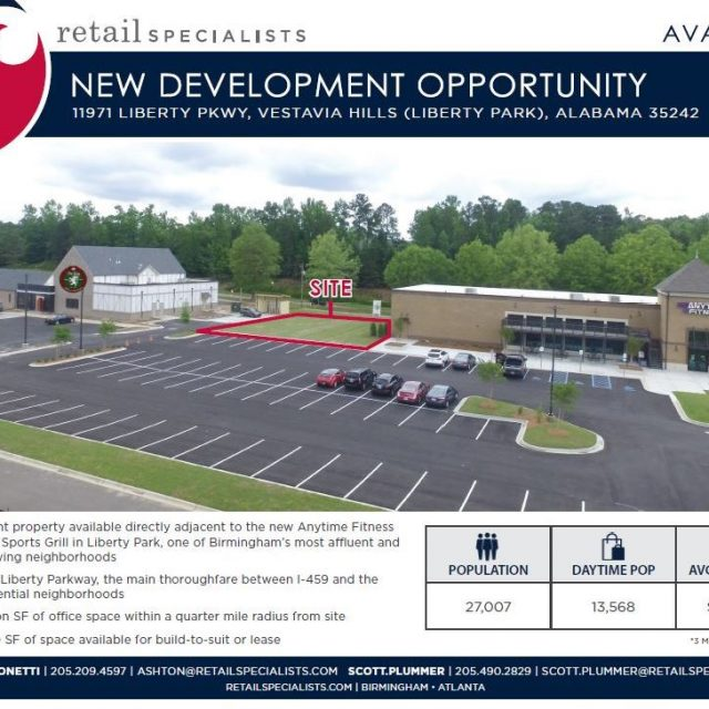 NEW DEVELOPMENT OPPORTUNITY IN LIBERTY PARK