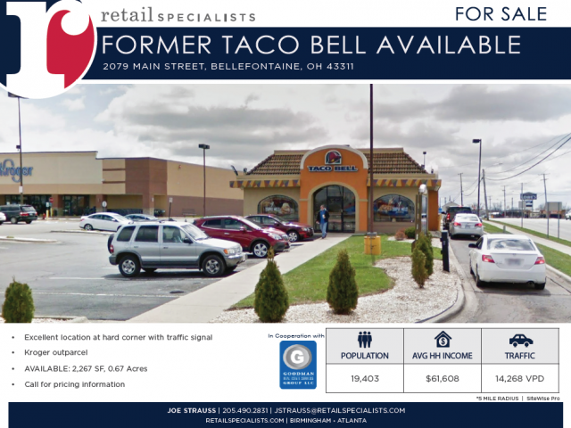 FORMER TACO BELL AVAILABLE