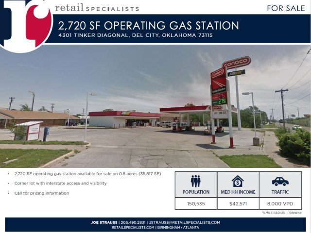 OPERATING GAS STATION FOR SALE